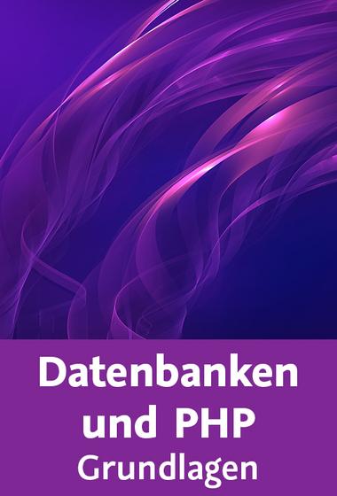Cover: Video2Brain Datenbanken und Php Grundlagen