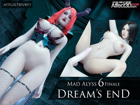 Mad Alyss 6 Dreams End Cover