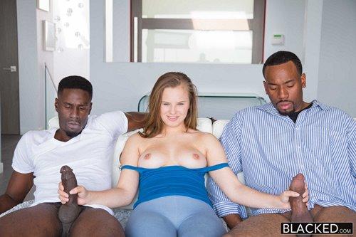 Jillian Janson - Minnesota Teen Tries First Interracial Threesome - 12th January 2017