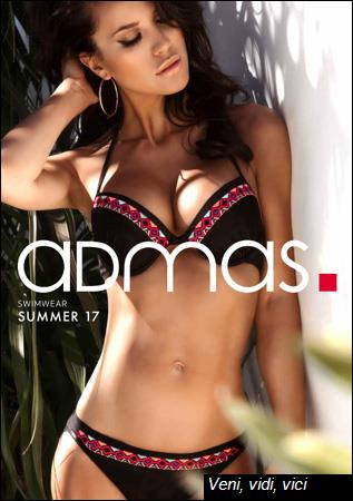 Admas Swimwear Summer Collection Catalog 2017