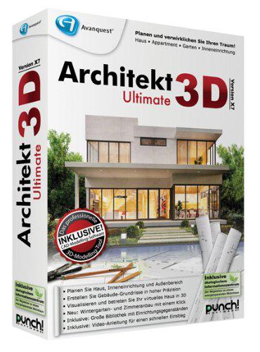 grafik architekt 3d ultimate x9. Black Bedroom Furniture Sets. Home Design Ideas