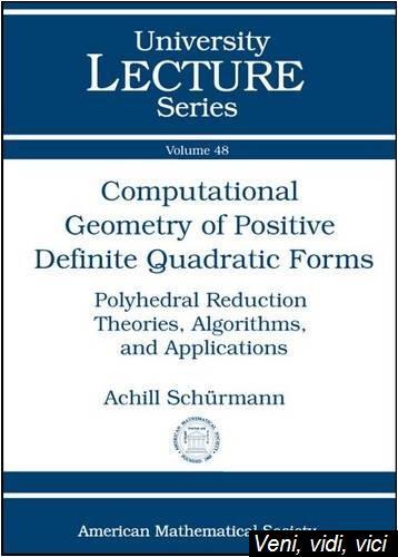 Computational Geometry of Positive Definite Quadratic Forms