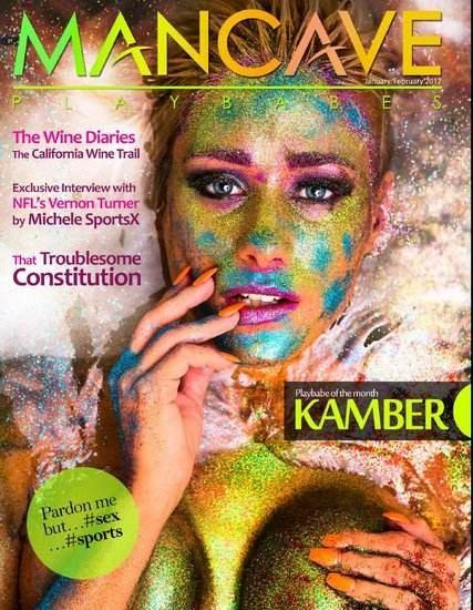 Mancave Playbabes January February 2017 Cover