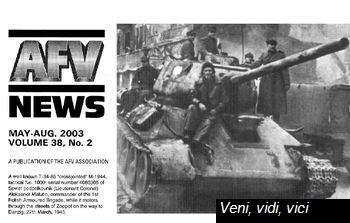 Afv News Vol 38 Nr 2 May August 2003