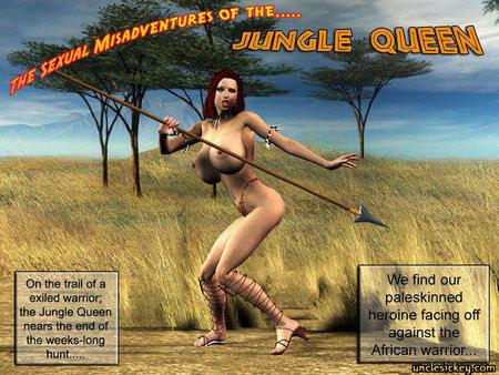 Jungle Queen Cover
