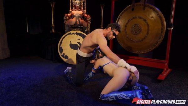 Aria Alexander, Charles Dera - Mortal Kombat, A XXX Parody 2017-01-18