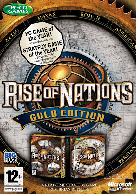 Rise of Nations Gold Deutsche  Texte, Untertitel, Menüs Cover