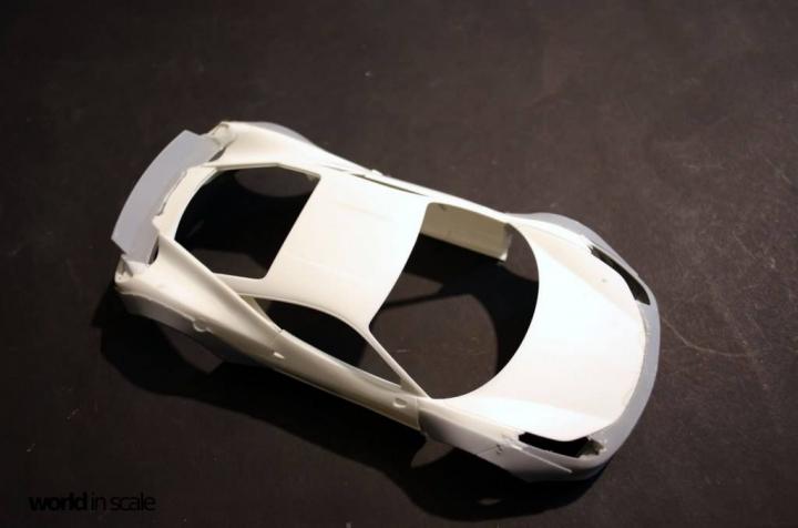 "FERRARI 458 ""LIBERTY WALK"" (LB PERFORMANCE) -  1/24 by Fujimi, Hobby Design Kpy9lcxa"