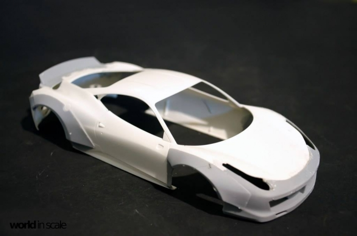 "FERRARI 458 ""LIBERTY WALK"" (LB PERFORMANCE) -  1/24 by Fujimi, Hobby Design Sil89fzy"