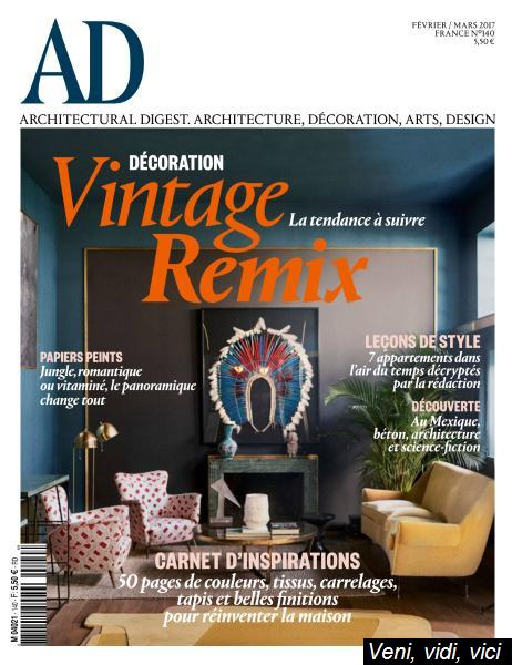 Ad Architectural Digest France Fevrier Mars 2017