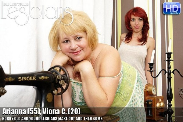 Arianna - 55, Viona C. - 20 Old and Young Lesbian
