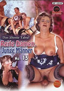 Reife Damen, Junge Manner #13 Cover