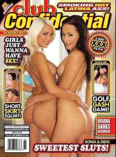 Club Confidential April 2010 Cover