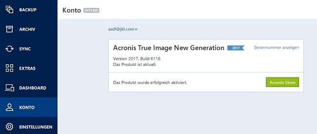 Acronis True Image 2017, 2016, 2015, 2014 Home/Premium - immer aktuell - Boerse.SX Boerse.BZ ...