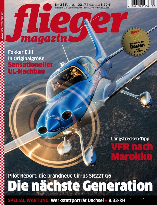 Fliegermagazin.Februar.2017