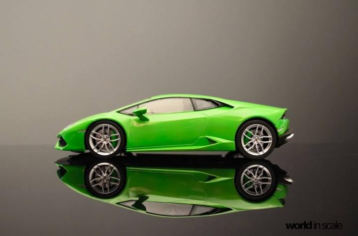 Lamborghini Huracán LP 610-4 - 1/24 by Aoshima Fuglcmq7