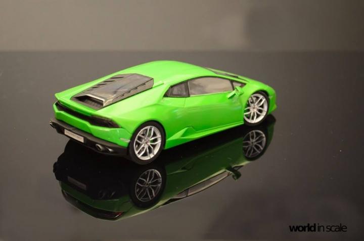 Lamborghini Huracán LP 610-4 - 1/24 by Aoshima W5qaoosp