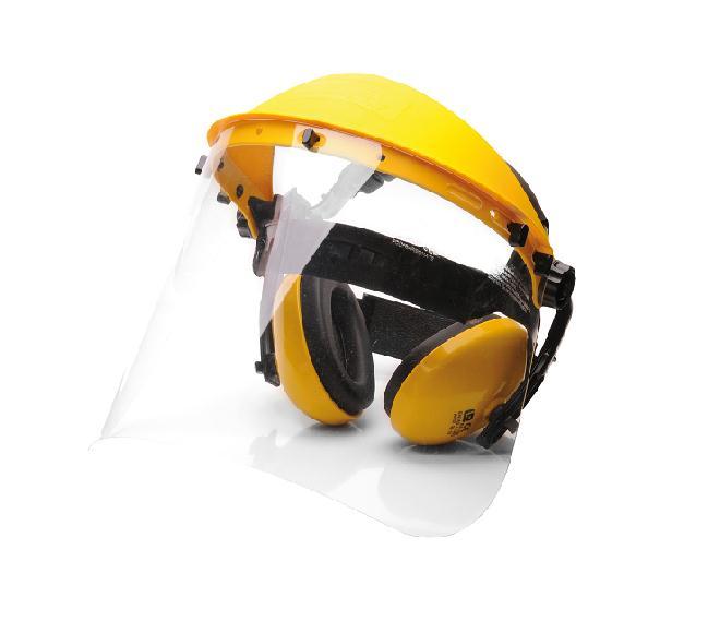 Gehör- und Gesichtschutz