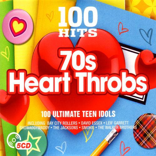 100 Hits 70s Heart Throbs (5CD, 2016)
