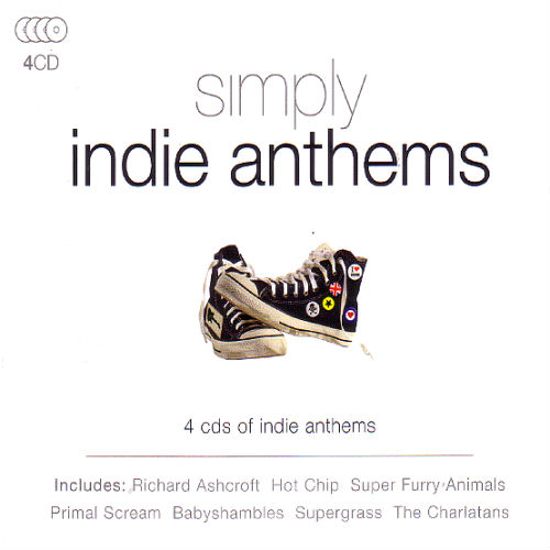 Simply Indie Anthems (4CD, 2016)
