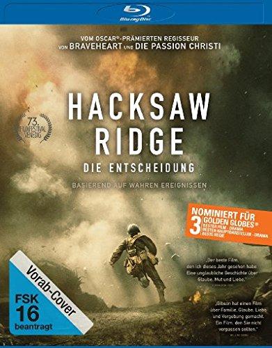 Drama Hacksaw Ridge Die Entscheidung 2016 Dvdscr German