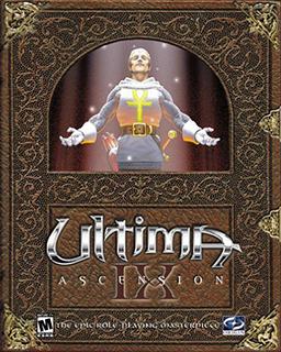 Ultima IX: Ascension Deutsche  Texte, Untertitel, Menüs, Videos, Stimmen / Sprachausgabe Cover