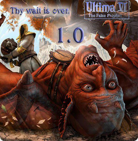 Ultima VI: The False Prophet Deutsche  Texte, Untertitel, Menüs, Videos Cover