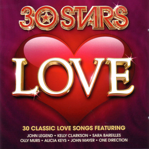 30 Stars Love (2CD, 2016)