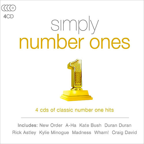 Simply Number Ones (4CD, 2016)