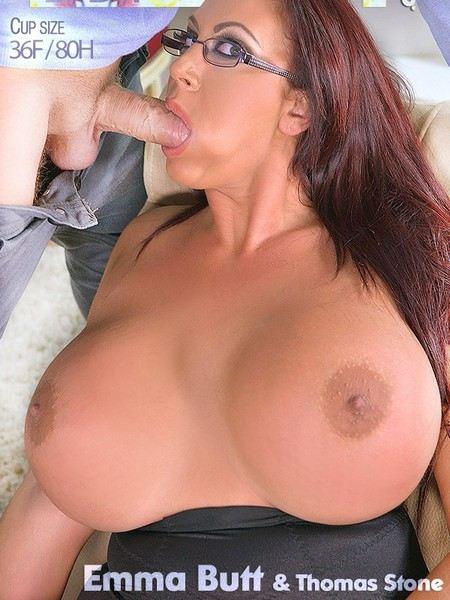 Emma Butt - Alluring Psychologist, Her Massive Tits Make Client Cum