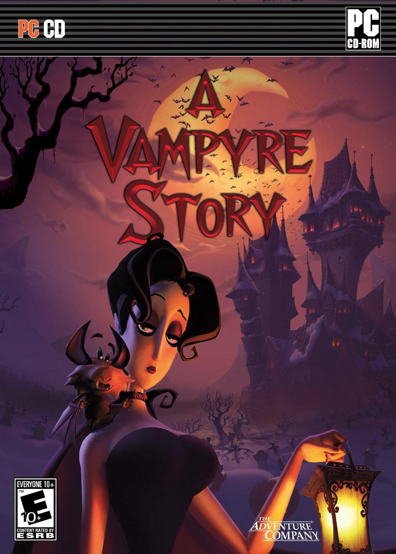 A Vampyre Story Deutsche  Texte, Untertitel, Menüs, Stimmen / Sprachausgabe Cover
