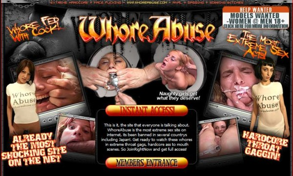 Whore Abuse - Missbrauchte Nutten - Siterip  Cover