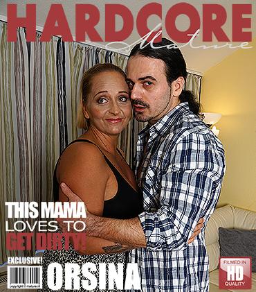 Mature mama gettin all dirty, Orsina - 42 - 31.01.2017