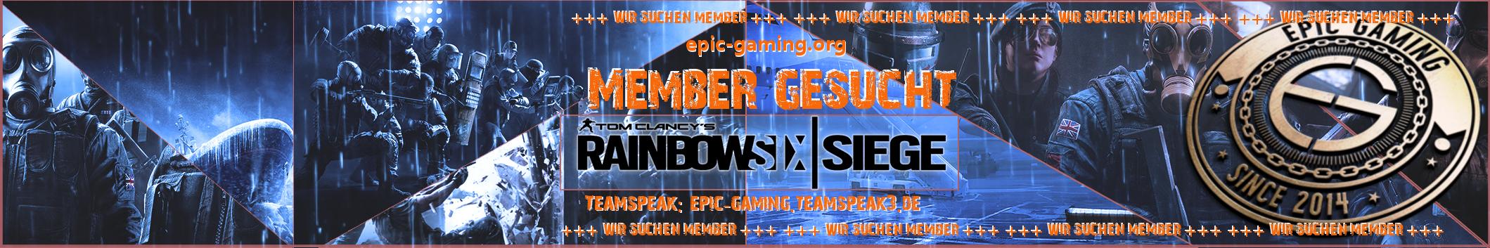 Membersuche Rainbow Six Siege