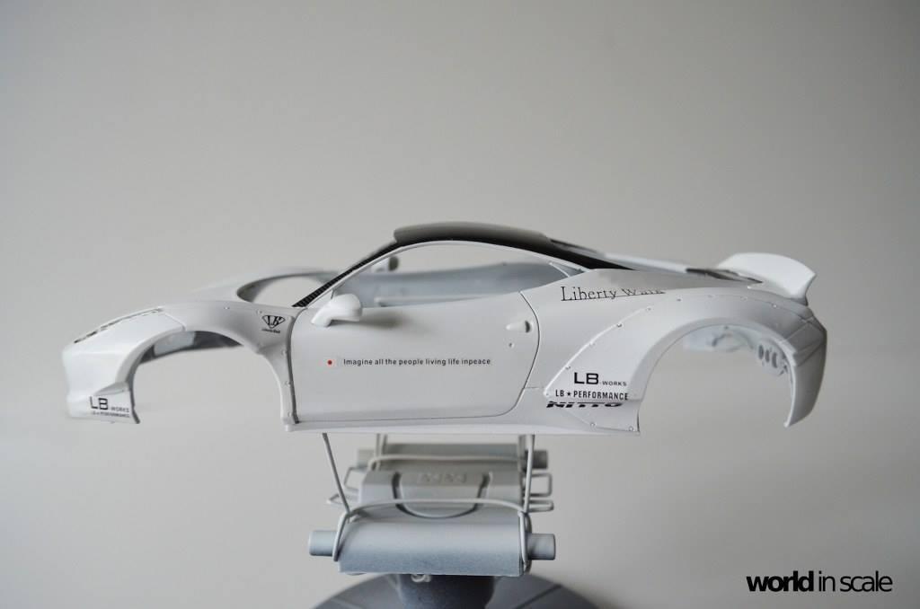"FERRARI 458 ""LIBERTY WALK"" (LB PERFORMANCE) -  1/24 by Fujimi, Hobby Design Ysnvlbsj"