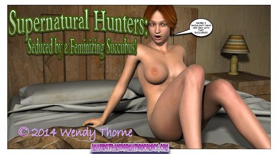 AmazingTransformationComics - Seduced by a Feminizing Succubus