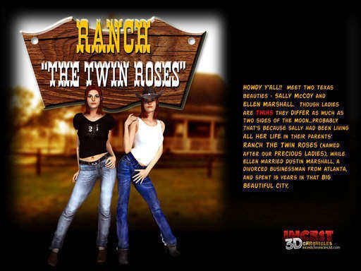 Ranch The Twin Roses 1 Cover