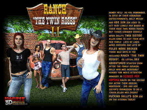 Ranch The Twin Roses 2 Cover