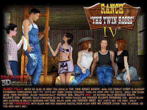 Ranch The Twin Roses 4 Cover