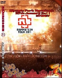 Rammstein Live in Sydney Big Day Out Festival Pal 2011 mdvd5