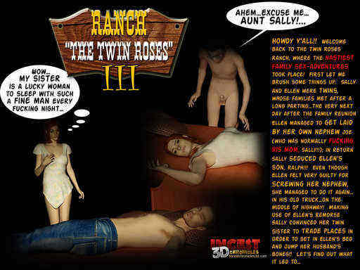 Ranch The Twin Roses 3 Cover