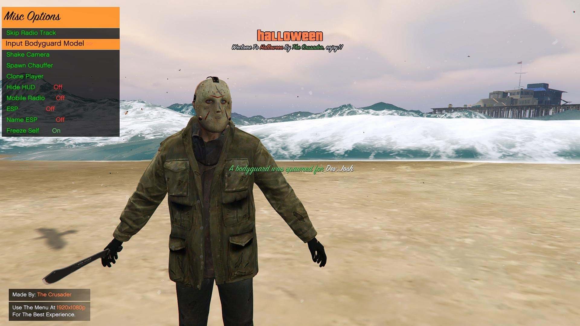 Outdated - GTA5 Halloween Mod Menu + Download/Source | CabConModding
