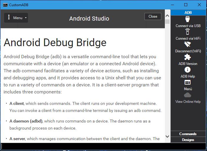 Windows] [ADB] CustomADB | Android Development and Hacking