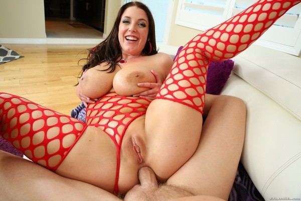Angela White, Mark Wood - Enormously Stacked Aussie Butt-Fucked