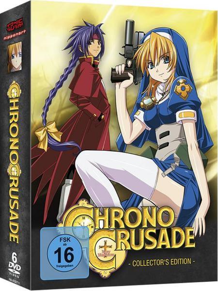 Chrono Crusade complete German dl DVDRip x264 AST4u