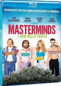 Masterminds - I geni della truffa (2016) Bluray FULL Copia 1-1 AVC 1080p DTS HD MA ENG ITA SUBS-BFD