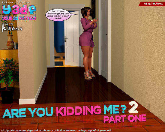 Are You Kidding Me 2 Part 1 Cover