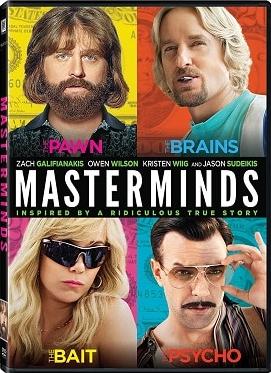 Masterminds - I geni della truffa (2016) DVD9 Copia 1-1 ITA ENG SUBS-BFD
