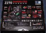 2tq3625x - MSI Z270 GAMING PRO CARBON Testers Keepers