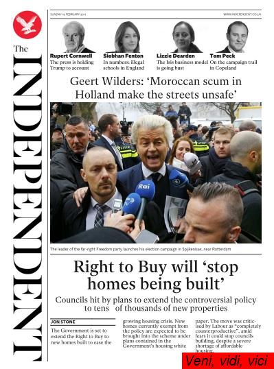 The Independent 19 February 2017